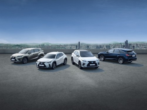 SALES OF LEXUS HYBRID SUVS REACH QUARTER OF A MILLION MILESTONE IN EUROPE