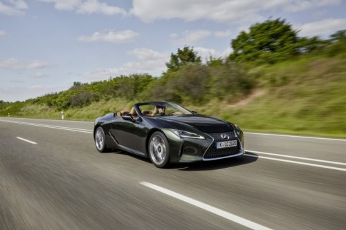 LEXUS LC ELECTED BEST 2021 CONVERTIBLE IN THE UK