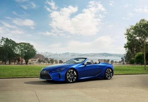 LEXUS LC 500 CONVERTIBLE MAKES ITS EUROPEAN DEBUT AT THE 2020 GENEVA MOTOR SHOW