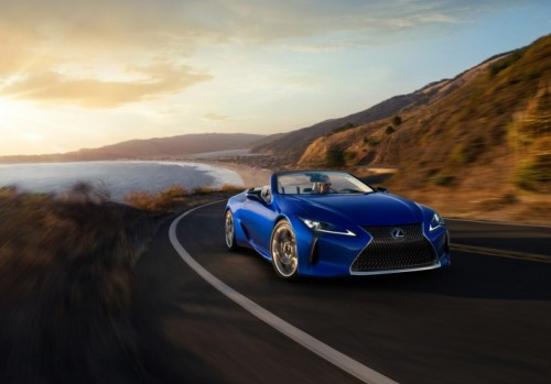 LEXUS LC 500 CONVERTIBLE MAKES ITS GLOBAL DEBUT AT THE 2019 LOS ANGELES AUTO SHOW