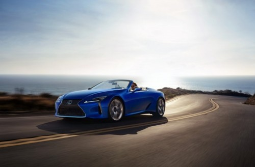 THE LEXUS LC CONVERTIBLE CAPTURING ULTIMATE BEAUTY IN DESIGN