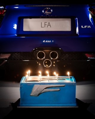 LEXUS CELEBRATES THE 10 YEARS ANNIVERSARY OF THE LFA