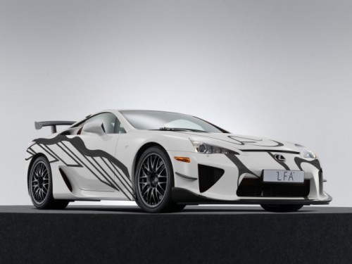 LEXUS CELEBRATES FIRST PARTICIPATION AT 24 HOURS OF SPA WITH UNIQUE LFA ART CAR