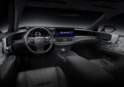 """TIME IN DESIGN"" HAND CRAFTED BEAUTY IN THE NEW LEXUS LS"