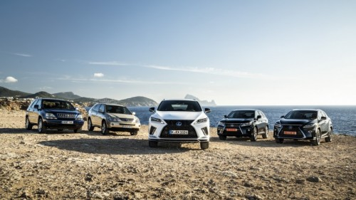 THE MARKET REVOLUTION THE LEXUS RX THE WORLD'S FIRST LUXURY CROSSOVER