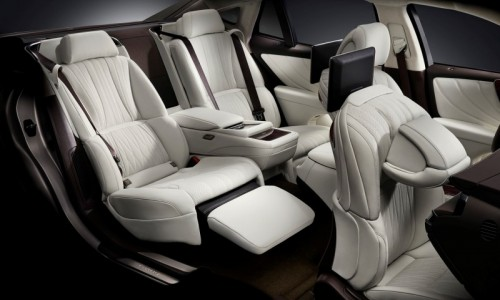 2018 LEXUS LS TAKUMI CRAFTSMANSHIP stories Chapter 4 Seat design