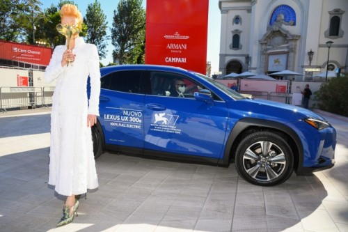 STARS OF THE VENICE INTERNATIONAL FILM FESTIVAL SHARE RED CARPET MOMENTS WITH LEXUS