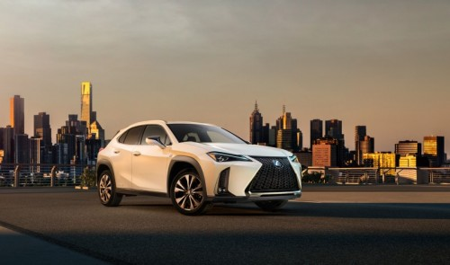 REVEALED FIRST OFFICIAL IMAGE AND VIDEO OF THE UX LEXUS' FIRST URBAN COMPACT CROSSOVER