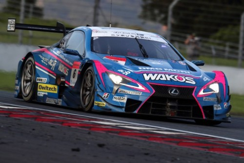 SUPER GT Round 5 FUJI GT 500mile RACE Fourth Consecutive Victory for the LEXUS LC500