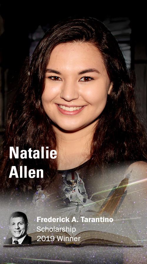 Natalie Allen, 2019 Frederick A. Tarantino Scholarship awardee