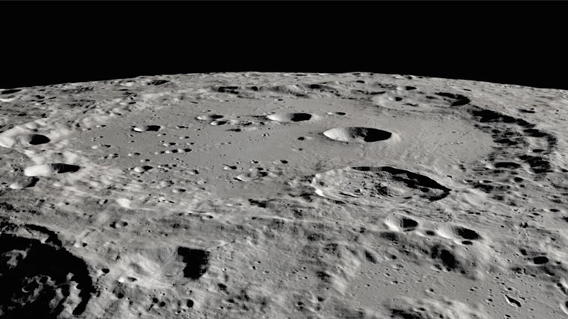 Clavius Still; Image credit: NASA/Moon Trek/U.S. Geological Survey/Lunar Reconnaissance Orbiter
