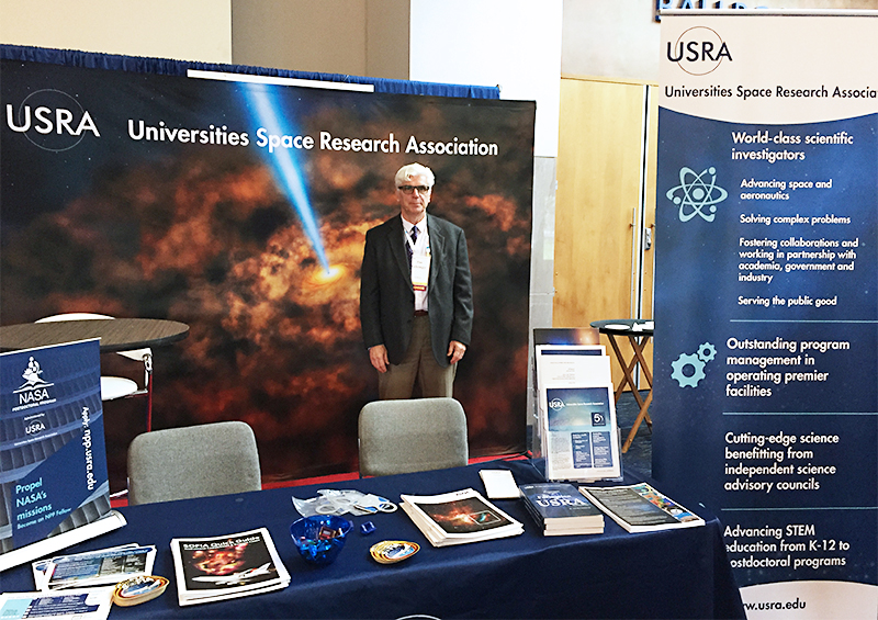 USRA Booth at the 50th annual DPS meeting Knoxville, Tennessee 2018