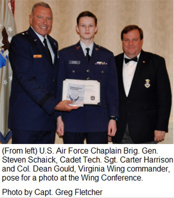 va wing cadet honored for essay on character core values wing cadet honored for essay on character core values