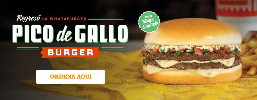 Regresó Pico de Gallo Burger
