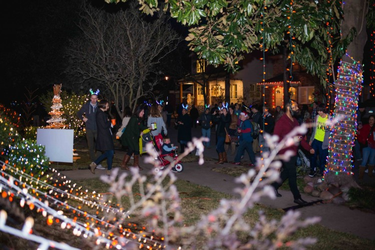 the entire neighborhood came out for lights in the heights where they made the most of all the whataburger fun and festivities - Is Whataburger Open On Christmas