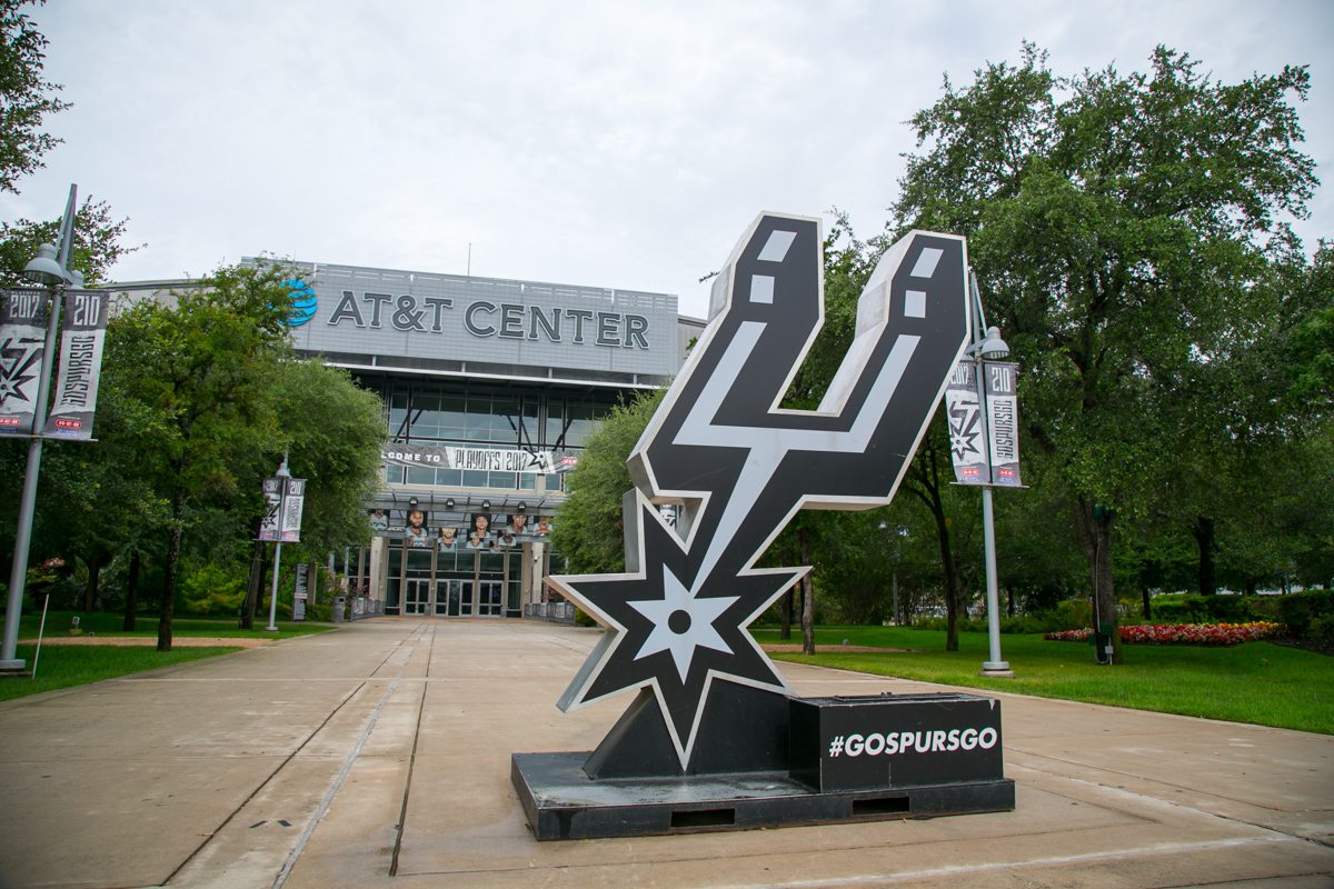 AT&T Center -  Home of the San Antonio Spurs