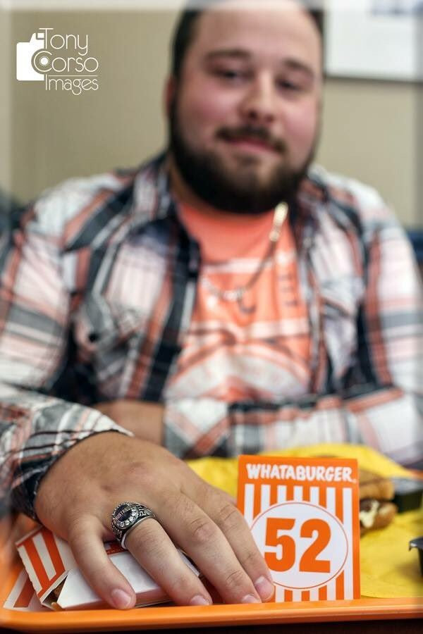 Whataburger Class Of 2016 Table Tent
