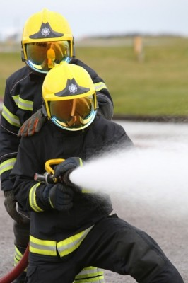 EMA's fire fighters