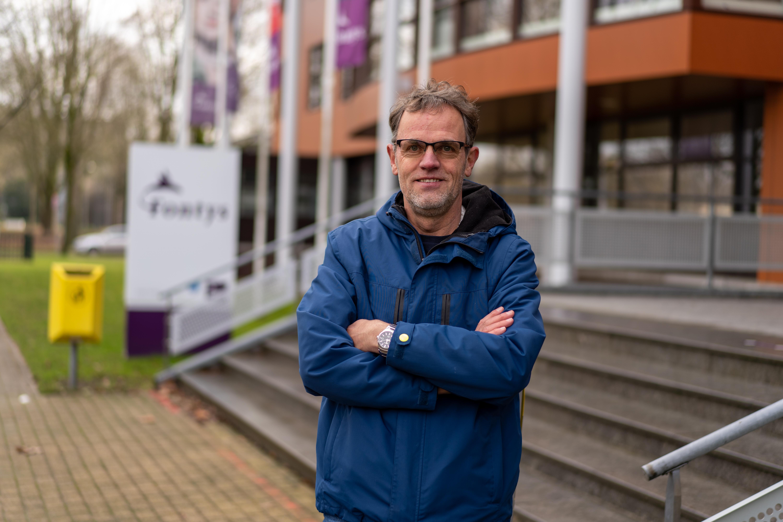 Roosteraar Martin Huisman van Fontys Hogeschool Kind en Educatie.