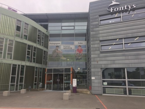 De Fontys-vestiging in Sittard