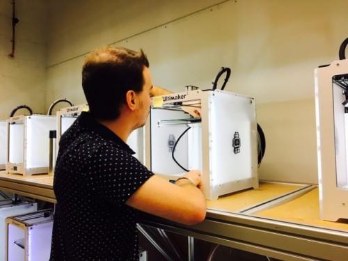 Studenten gaan bij Empower onder meer aan de slag met 3D-printen.