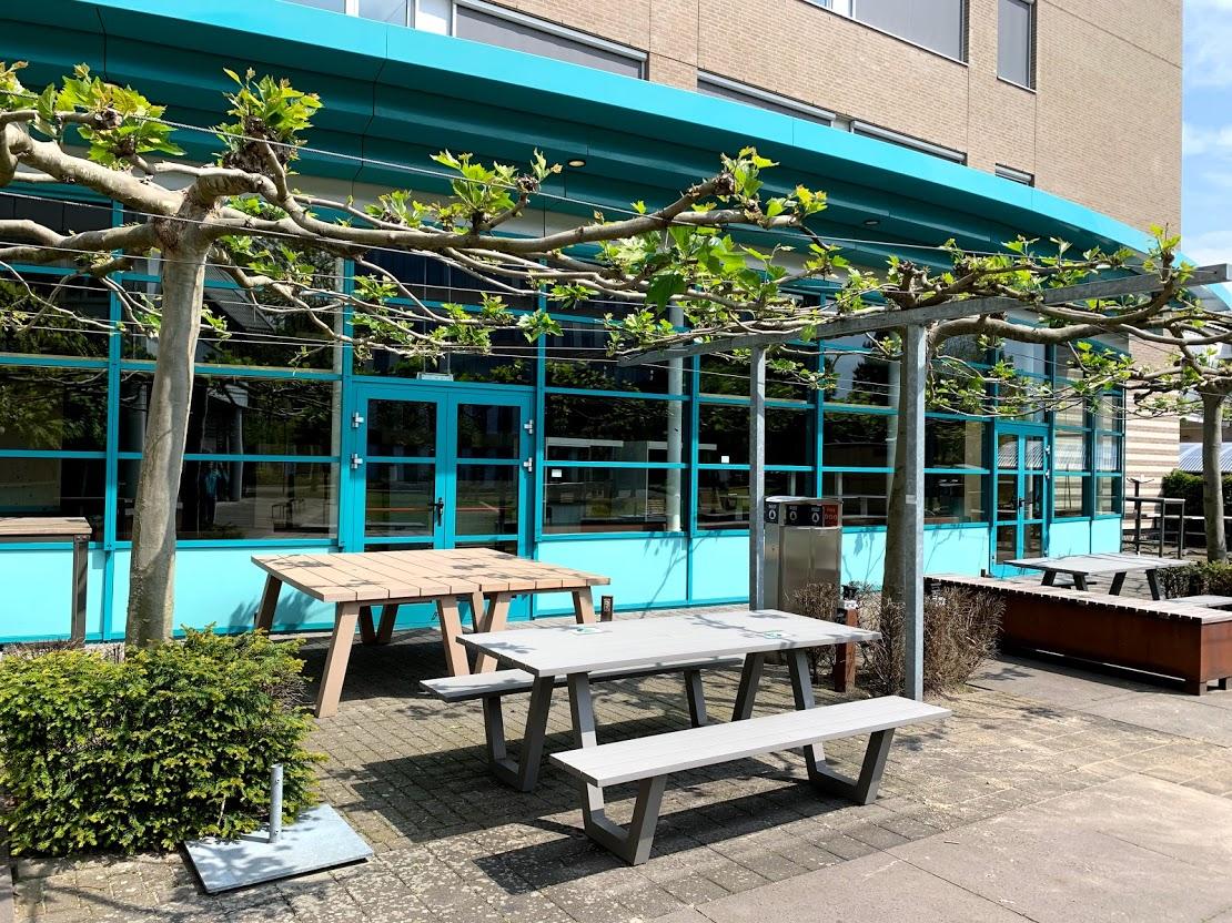Café 040 op de campus Rachelsmolen in Eindhoven.