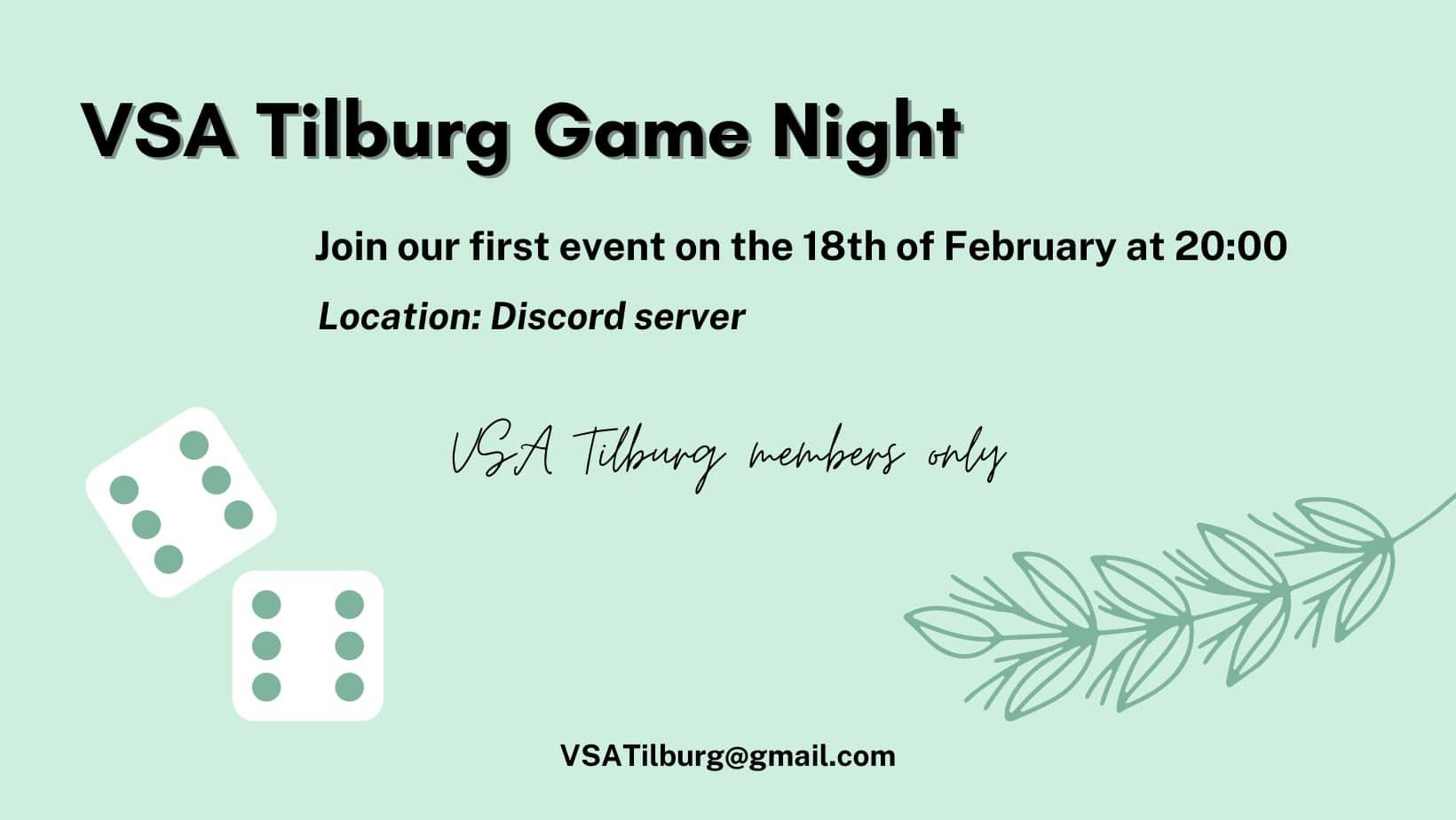 Het eerste evenement van VSA Tilburg.