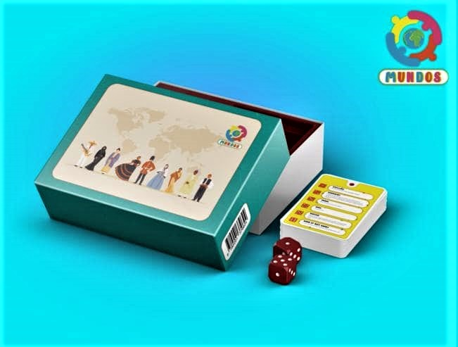 Het kaartspel Mundos.