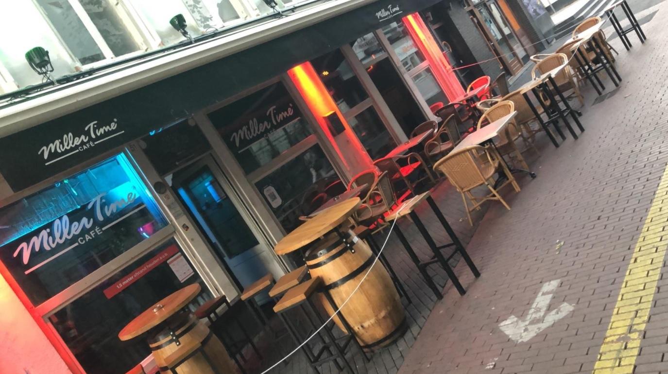 Café Miller Time in Eindhoven, afgelopen maandagavond.