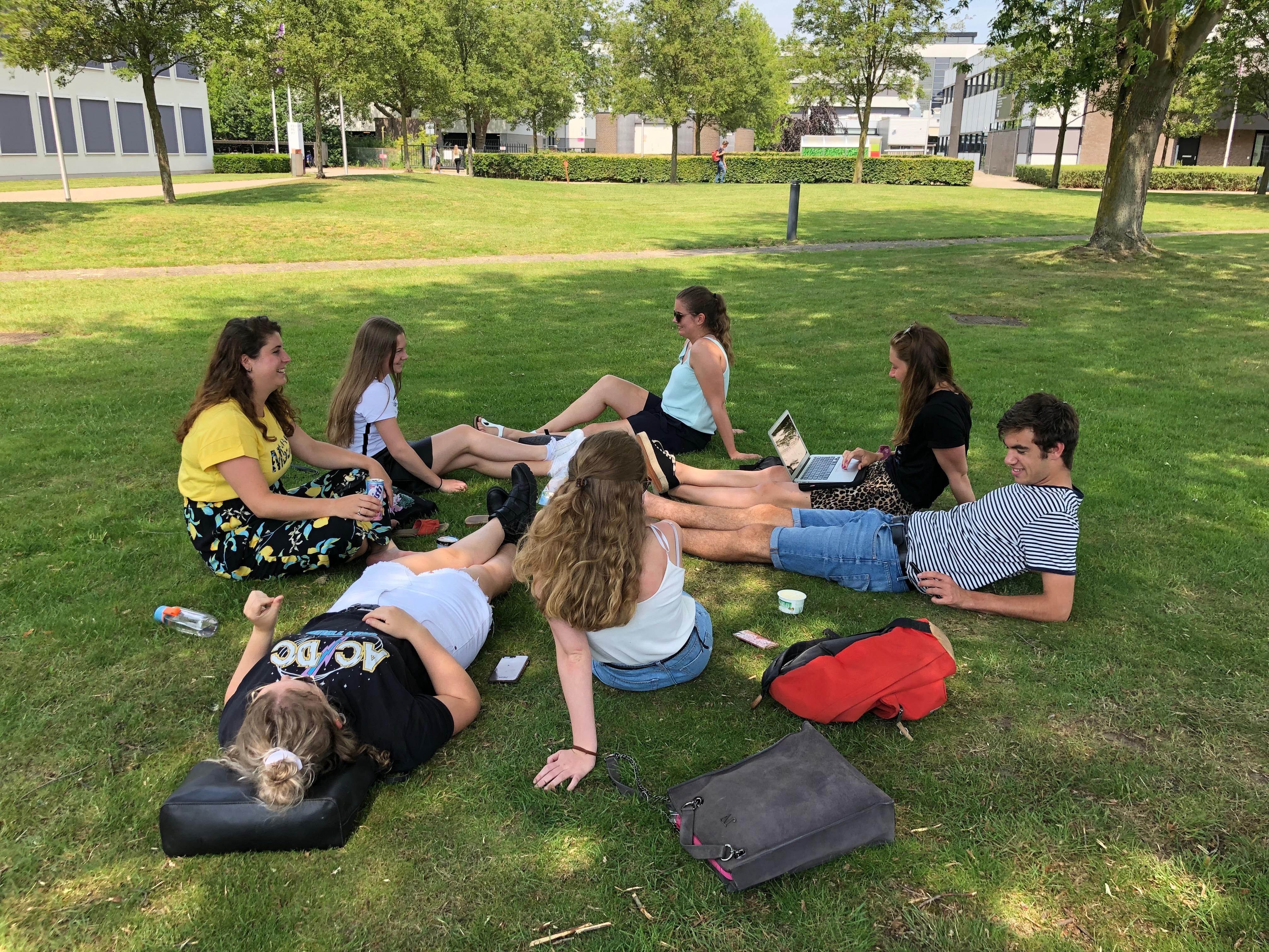 Campus Stappegoor in 'goede oude tijden'.