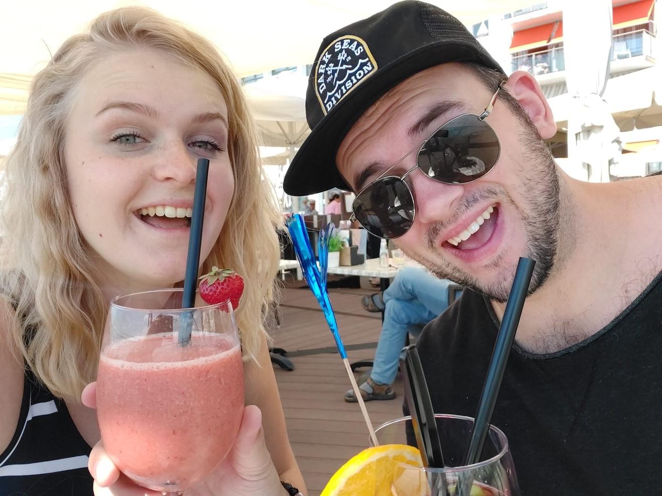Fontys-student Martijn en zijn vriendin gingen vorig jaar in Zeeland op vakantie.