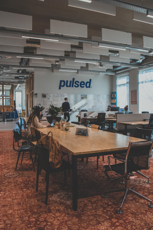 Werkruimte van Pulsed in gebouw R10 op campus Rachelsmolen.