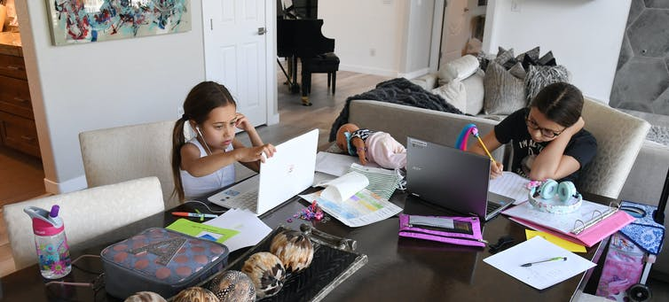 Millions of U.S. students are engaged in remote learning.