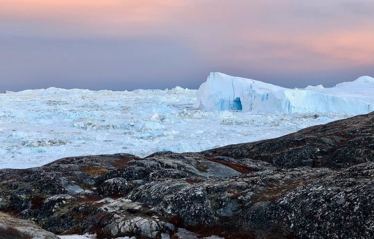 As Greenland's glaciers retreat, they are losing ice at a faster and faster rate.