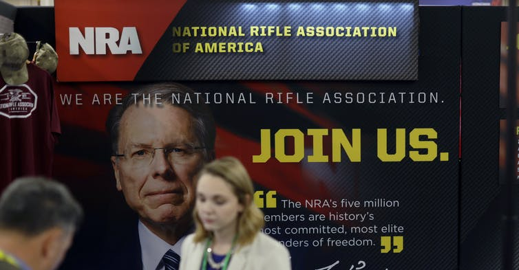 Facing legal and financial challenges, the NRA wants to exit New York.