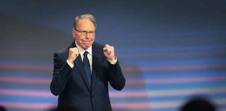 The suit alleges improprieties by Wayne LaPierre and other current and former NRA officials.