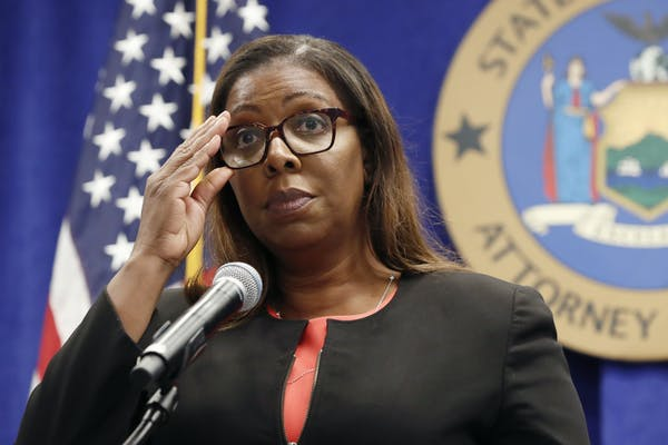 New York Attorney General Letitia James has sued the NRA.