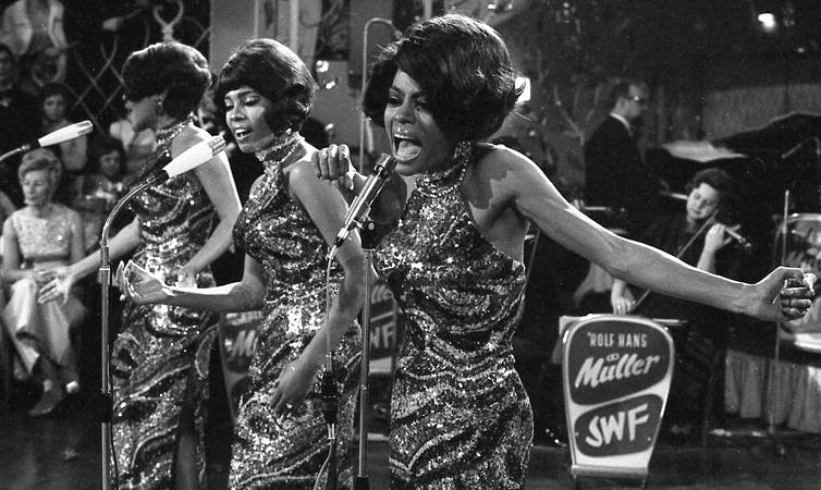 The Supremes helped bridge a cultural divide