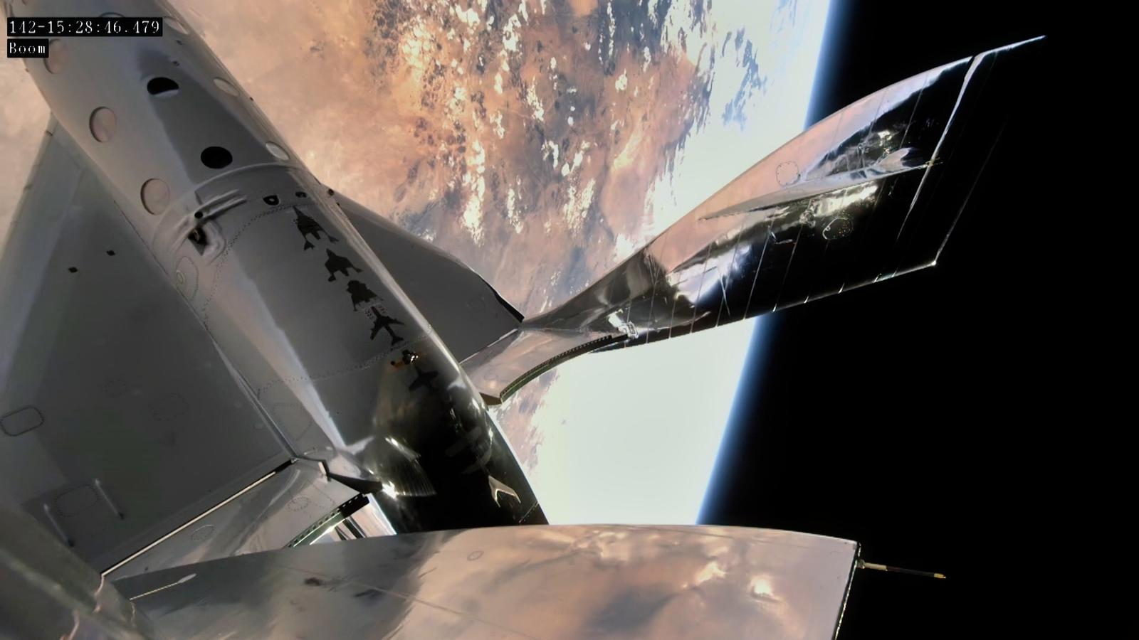 Virgin Galactic's Unity VSS spacecraft went on a suborbital test flight in May 2021.
