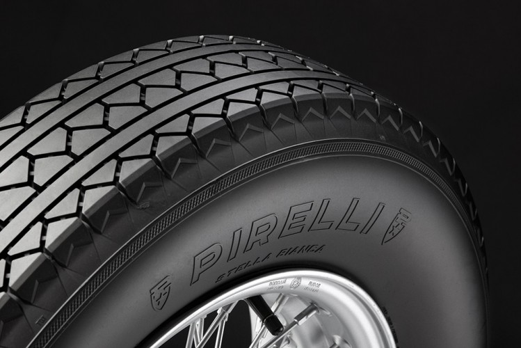 PIRELLI'S STELLA BIANCA IS BACK: THE TYRE THAT REVOLUTIONISED THE