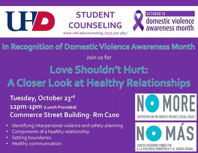 domestic violence activities for students