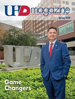 UHD Magazine Spring 2020 cover