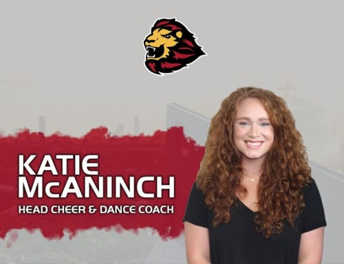 Katie McAninch, UST's Cheer & Dance Coach