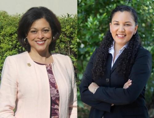 L to R:  Dr. Carla E. Alsandor and Brenda Banegas