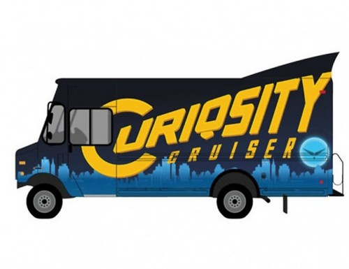 Curiosity Cruiser Super Library on Wheels