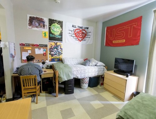 Guinan Hall Dorm Room