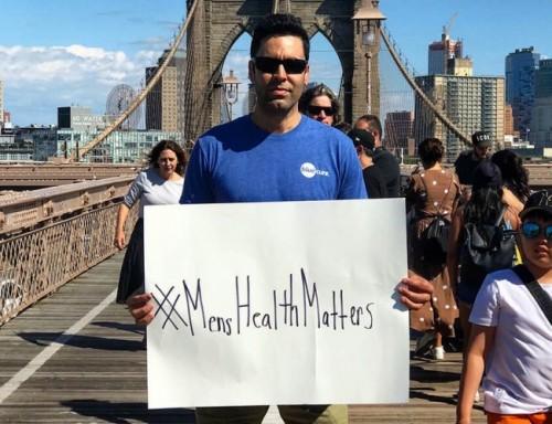 Gabe Canales at the Brooklyn Bridge