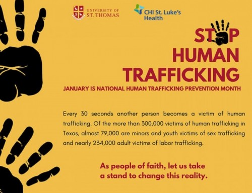 Human Trafficking event photo