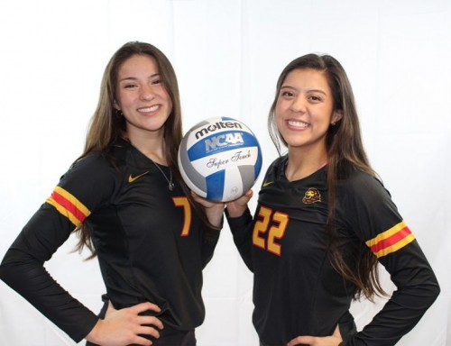 Jaclyn and Chelsea Guerrero