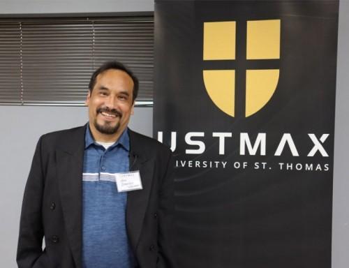 José D. Vázquez, program coordinator at UST's Centro Semillero